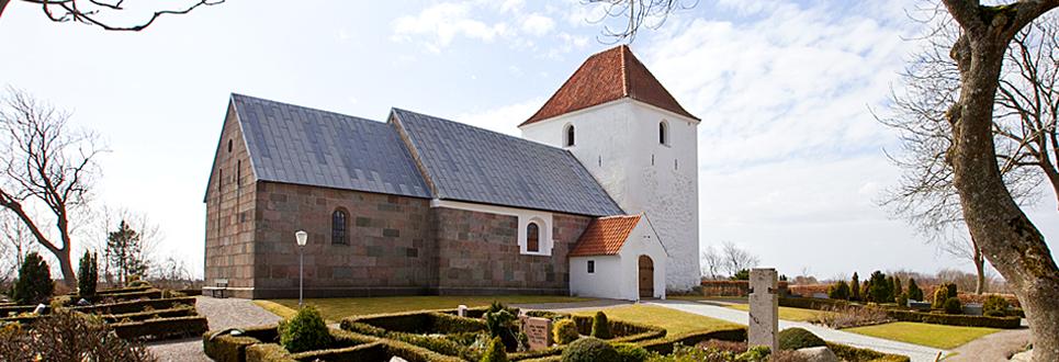 Solbjerg Kirke, Mors, Nordvest Jylland, Danmark