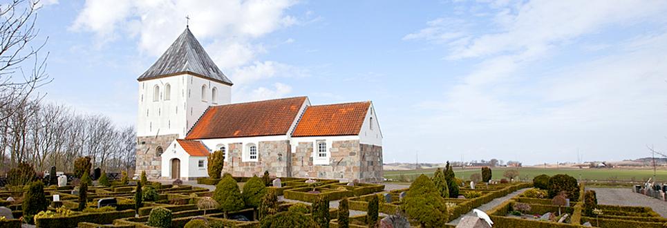 Galtrup Kirke, Mors, Nordvest Jylland, Danmark