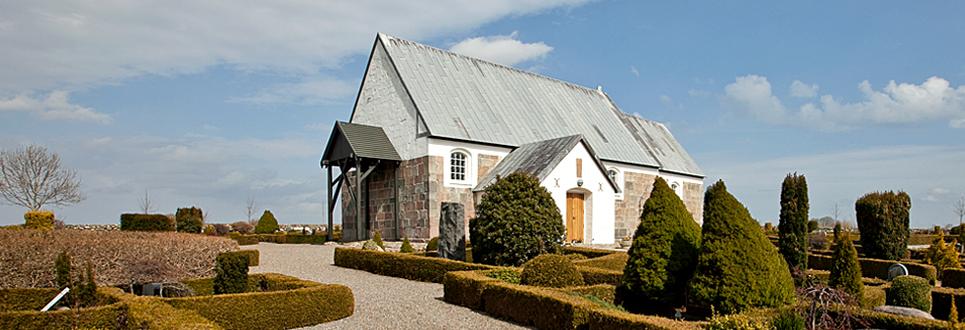 Erslev Kirke, Mors, Nordvest Jylland, Danmark